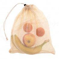 Nature Harmony NH-1143 Sieťované bavlnené vrecko na potraviny S,M, L, XL 8 ks
