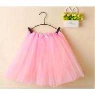 a440add79 SISI 7531-pink TuTu sukňa pre dievčatá bodkovaná, 3-vrstvová, dĺžka ...