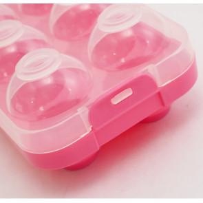 TFY No.98788-pink  Dóza na vajíčka, 10ks