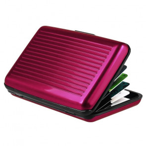 Aluma Wallet CASE-1 Puzdro na doklady 11x7,5x2cm, ružové