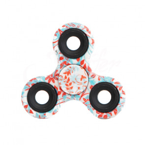 TFY Blue flower Fidget Spinner kov