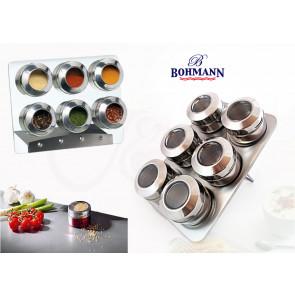 Bohmann BH-7817 Magnetické koreničky 7 ks, nerezové