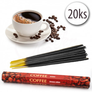 Exotic World COFFEE-76120-8 Vonné tyčinky 20 ks