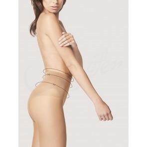 FIORE Bikini Fit 20 sťahujúce pančuchy 20DEN, Black