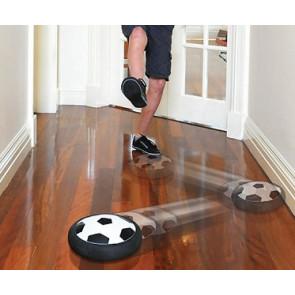 FootballSport N3221 Futbalová lopta – vzdušný disk, biely