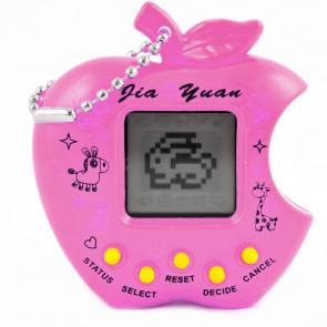 TFY No.9679 PINK Tamagotchi jablko, ružové 49v1