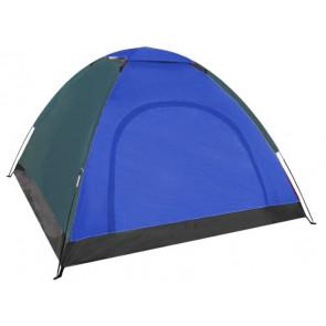 HANLU HL-D12-Blue Turistický stan modrý 2-4 osoby