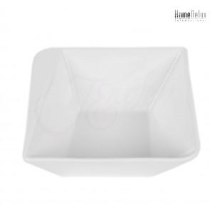 HomeDelux, HD12041 Quatre porcelánová miska, hranatá 17,5x17,5cm