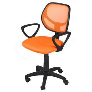 Malatec STL715 Otočná kancelárska stolička, oranžová