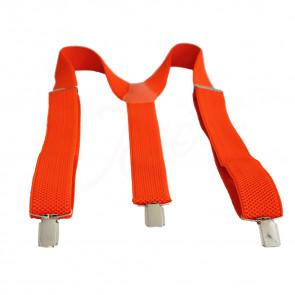 MenStyle  TR-02 Moderné traky pre pánov aj pre dámy, oranžové