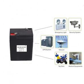 Silver Royal 3FM-4 Náhradná batéria - akumulátor do digitálnej váhy 6V