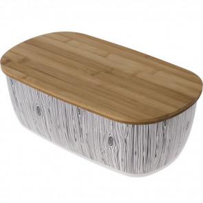 ODELO OD7702 Bambusový retro chlebník 36,3 x 20,3 x 13,5 cm