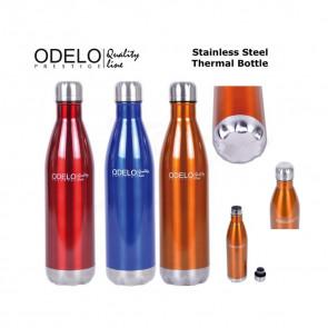 Odelo OD1077 Termofľaša 1L Prestige, oranžová