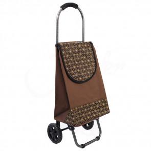 Ormi, New35 Nákupná taška na kolieskach 30L, nosnosť 20kg, hnedá