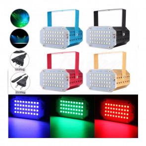 RoomStrobe XL-P36 Mini LED disco stroboskop 36, RGB, 10W