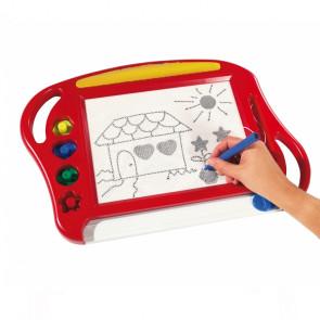 SISI NO22325 Detská tabuľka na kreslenie 39x29x2,3cm, ružová