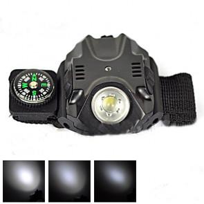 TFY 0196 LED baterka na zápästie 180lm, čierna
