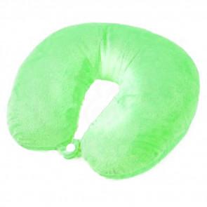 TFY 76250-Green Cestovný vankúš, záhlavník 27x26x8cm, zelená