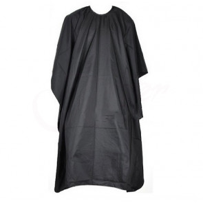 TFY Hair708 Kadernícka pláštenka 140 x 95 cm, čierna