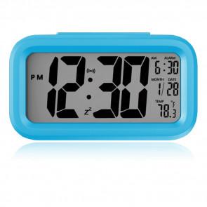 Elektronický LED budík, digitálne hodiny s dátumom a teplotou, moderný digitálny budík, hodinky