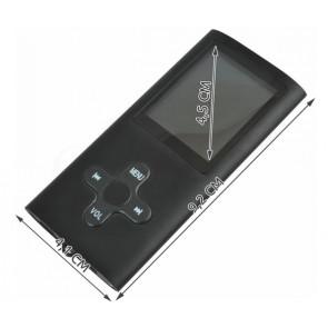 TFY No.5001 MP4 prehrávač s LCD displejom, čierny