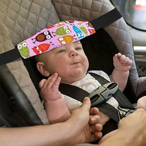 TFY Owl7850 Oporný pás do autosedačky pre deti, motív sova