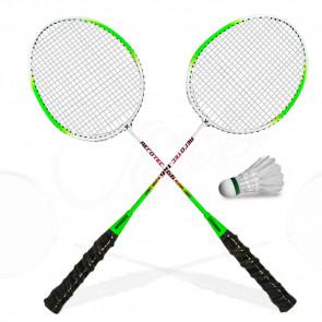 TFY X-166-GRN  Badmintonové rakety 2ks, zelené