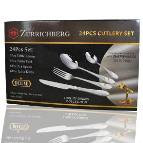 Zurrichberg ZBP7086 Sada príborov v praktickom balení, 24 kusov